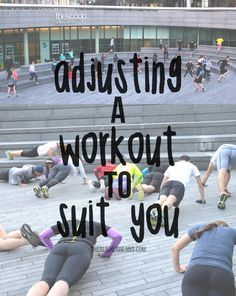 How to adjust your workout Running Workout Plan, Workout Diet Plan, Hiit Workout At Home, Workout Challenge, Running For Beginners, Workout For Beginners, Strength Training For Runners, Indoor Workout, Fitness Inspiration Quotes