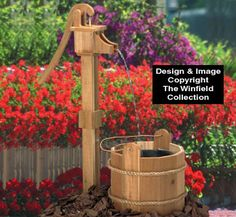 Available in Canada - The Winfield Collection - Old Pump & Wash Tub Plan