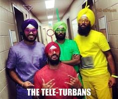 The Tele-Turbans - racist meme - http://jokideo.com/the-tele-turbans-racist-meme/