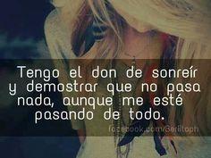 Don de Sonreir! :-)