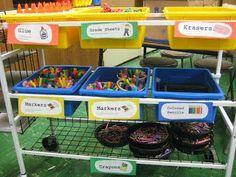Sage Advice for Teaching Art on a Cart | SchoolArtsRoom | Art Education Blog for K-12 Art Teachers