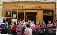 Berthillion -  Île Saint-Louis, Paris.   Luxury ice cream at its best. Berthillion's primary store in on the tiny Île Saint-Louis, and the lines can be ridiculous. It was good 'scream, and all natural, to boot.