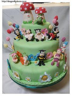 Enchanted Garden Cake