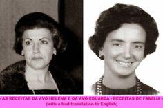 As Receitas da Avó Helena e da Avó Eduarda