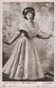 """Gabrielle Ray as """"Susan"""" in """"Lady Madcap"""" 1905 (Rotary 479 M)"""