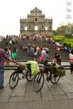 寂靜的單車世界: 單車環中國第141日 蓮溪鎮到澳門黑沙灣
