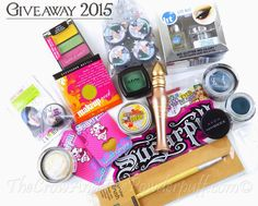 The Crow and the Powderpuff | A Creative Makeup & Beauty Blog: Makeup Giveaway 2015!!