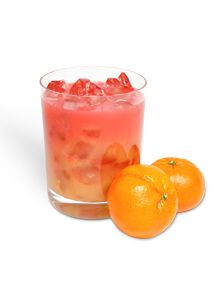 Mandarin Madras (1 1/2 oz Mandarin Orange vodka, OJ, Cranberry Juice)