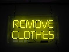 REMOVE CLOTHES
