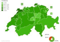 Schweiz: Triumph für Minder: Das Volk sagt mit überwältigender Mehrheit (68%) Ja zur Abzockerinitiative. Alle sind sich einig: Die Initiative muss nun schnell umgesetzt werden.   [baz.ch/Newsnet berichtet laufend.]