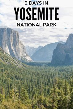 Enjoy the best of California with 3 days in Yosemite, a stunning National Park and World Heritage Site on the slopes of Sierra Nevada. Nature at its best.: