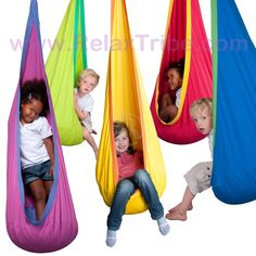 Hanging Chair Nest for Kids: JOKI | RelaxTribe