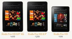 I'm in love with the new Kindle Fire HD!!
