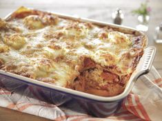 Cowboy Lasagna recipe from Trisha Yearwood via Food Network