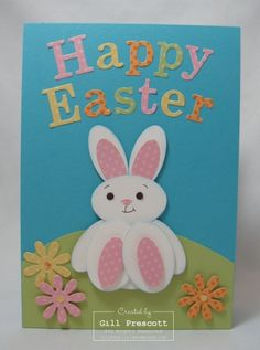 Stampin Up Easter card  by Gill at Lily-by-Gilly