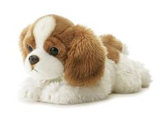 Aurora Plush Cavalier King Charles Spaniel Pup. Aurora World is a premier manufacturer of gift plush, stuffed animals and soft toys.  For 25 years, Aurora has brought you the latest trends and styles in the newest and softest fabrics.  Whether you are young, or young at heart, you will love the soft and cuddly feel of Aurora's wonderful products.