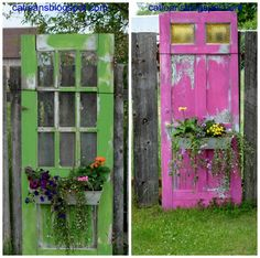 25 Diy Recycled Door And Window Projects - Top Do It Yourself Projects
