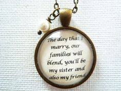 Hey, I found this really awesome Etsy listing at https://www.etsy.com/listing/156569258/sister-in-law-pendant-necklace-sister-in