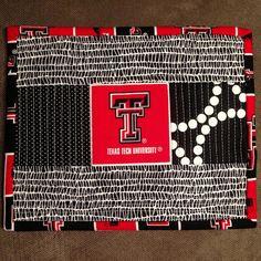 Texas Tech Mug Rug by Three Owls, via Flickr