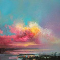 Cumulus Consonance Study 1 | cloudscape painting | Scott Naismith