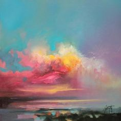 Cumulus Consonance Study 1 | cloudscape painting | Scott Naismith