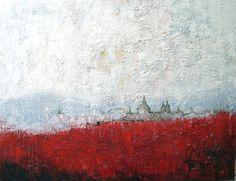 Monasterio - Oil on canvas - 100x81cm