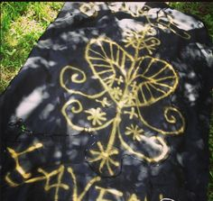 Marie Laveau Ritual veve flag by Scarlet Sinclair #voodoo #marielaveau