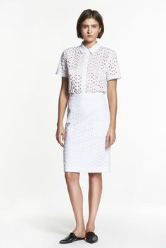The light simplicity of Scandinavian summers guided Jenni Kayne's pre-fall. [Courtesy Photo]