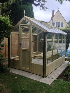 Our new greenhouse!