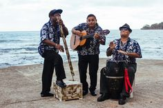 Calypso band - seafront downtown