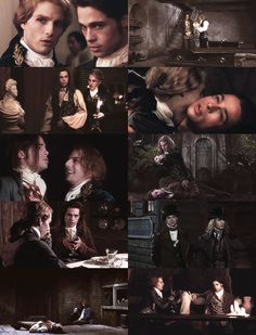 "Lestat and Louis ""I'm Lestat… Your Lestat. I'm the same Lestat you've always known, and no matter how I'm changed, I'm still. Vampire Mythology, Dracula Series, Lestat And Louis, Mayfair, Queen Of The Damned, The Vampire Chronicles, Interview With The Vampire, Michael Crichton, Gay Aesthetic"