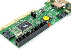 VIA Chipset 3 Port SATA +1 IDE PCI Controller RAID Card Adapter by Importer520. $4.95. Serial ATA (sata) host controller chip with 32-bit interfacing.  Compliant with serial ata 1.0 specification  Supports two independent serial ata ports with data transfer rate up to 1.5Gb/s .  Built-in 256 byte FIFO per port for fast read/write operations.  Supports Microsoft generic ide operation and Intel bus master DMA operations.  3 xSerial ATA ports (2 internal, 1 external) &1 Ultra ATA p...