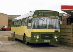 Ex-Stratford Blue Leyland Panther/Marshall Camair AUE312J in Caldewgate, Carlisle | Flickr - Photo Sharing!