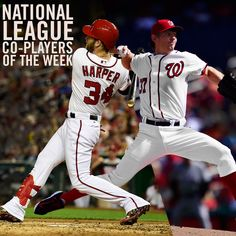 Bryce Harper, Stephen Strasburg named co-NL Players of the Week « Curly W Live