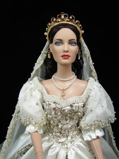 Queen of Hearts Bride - Redressed as a Faberge bride