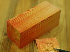 wood block sticky notes.