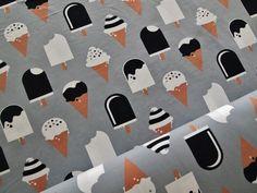 Ice Cream jersey by Mussukat, gray