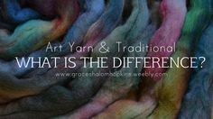 What is the difference between Art yarn spinners and Traditional spinners? What makes my handspun yarn Art yarn and your handspun yarn Traditional? Spinning Wool, Spinning Wheels, Hand Spinning, Yarn Spinner, Spin Me Right Round, Types Of Weaving, Drop Spindle, Yarn Inspiration, Art Yarn