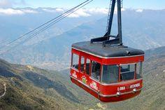 el teleferico - Merida, Venezuela - the worlds highest and longest cable car