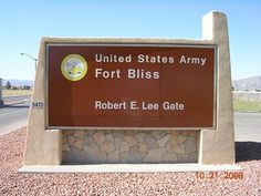 Fort Bliss, El Paso Texas