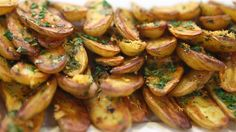 Roasted Fingerling Potatoes. These delicious and easy to make side dish pair perfectly with steaks, roast chickens and more!