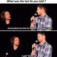 JARED looks so offended