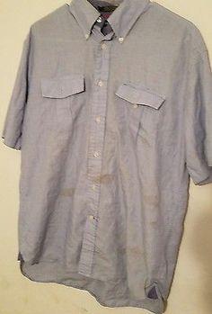 Tommy Hilfiger Button Down Shirt Men /Free Shipping