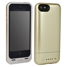 iPhone 5/5S/SE Battery Case - Mophie Juice Pack Protective Air (42834TGW), Gold