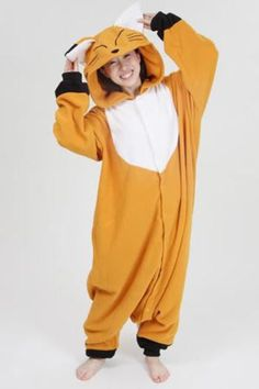Fox Kigurumi Onesie - awesome Halloween costumes for kids and adults