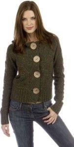 LILY MCNEAL Big Button Cardigan | Shop fashion, apparel,fall_fashion| Kaboodle