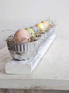 Pastel Easter. I'd like to use Lenox vessels for this, or lovely crystal for a more elegant look.