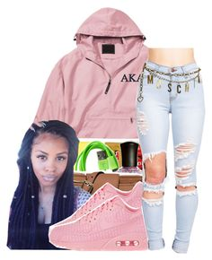 """""""Good Day"""" by queen-vanessa ❤ liked on Polyvore featuring NIKE and Moschino"""