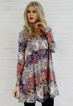 So in Fashion Paisley Swing Dress | So in Fashion | ASOS Marketplace