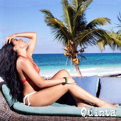 Relax en Tulum, Quintana Roo, Riviera Maya, México.